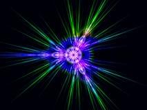 Fractal de la velocidad de la deformación Foto de archivo