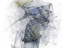 Fractal de Smokey ilustração do vetor