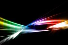 Fractal del arco iris Imagen de archivo libre de regalías