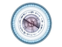 Fractal Dial Royalty Free Stock Images