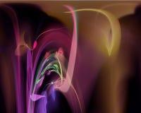 Fractal digital abstracto creativo, artístico, elegancia, dinámica libre illustration
