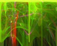 Fractal digital abstracto del modelo del efecto, elegancia, stock de ilustración