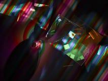Fractal digital abstracto, diseño etéreo futurista, partido ilustración del vector