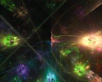 fractal digital abstracto, ornamento dinámico de la imaginación del diseño de la elegancia de la fantasía libre illustration