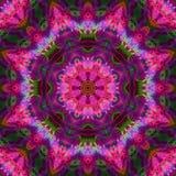 Fractal digital kaleidoscope abstract, beautiful design stock images