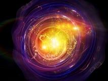 Free Fractal Disc Nebulae Royalty Free Stock Photography - 25921987