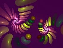 Fractal dissecado Foto de Stock