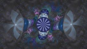 fractal dosyć szeroki royalty ilustracja