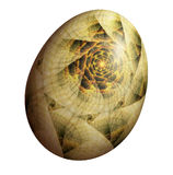Fractal Egg Stock Images