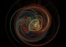 fractal Elemento astratto della priorità bassa Fotografia Stock Libera da Diritti