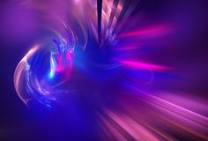 Fractal energy background Stock Photo