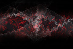 Fractal energy background. Fractal waves and swirls background Stock Photography