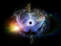 Fractal Eye Stock Image