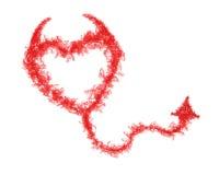 Fractal fantástico Design.Heart. Imágenes de archivo libres de regalías