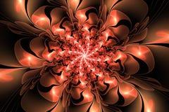 Fractal fantazi kwiat Obraz Royalty Free