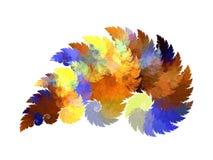 Fractal farbiger Hintergrund Lizenzfreies Stockbild