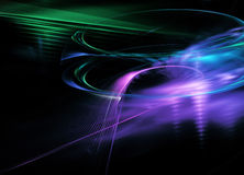 Fractal Flame Abstract line dinamic Background Stock Photo