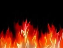Fractal flames Stock Photo