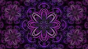 Fractal floral Mandala Wallpaper Fotografía de archivo