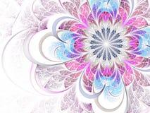 Fractal flower royalty free illustration