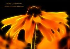 Fractal flower background Royalty Free Stock Images