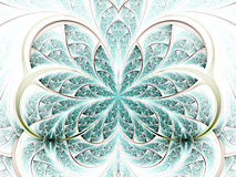 Fractal flower or butterfly Royalty Free Stock Images