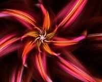 Fractal flower. royalty free stock photos