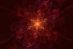 Fractal flower fairy stock images