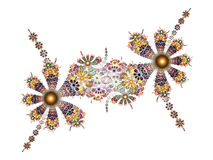 Fractal - flower Fantasy Royalty Free Stock Images
