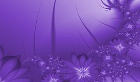 Fractal flower Royalty Free Stock Images