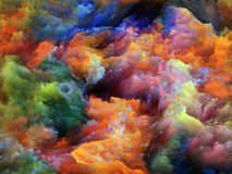 Fractal Foam. Royalty Free Stock Image
