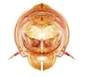 fractal frambragt head monster Arkivfoto