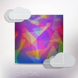Fractal frame Royalty Free Stock Image