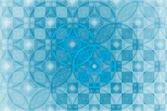 Fractal geeft fantasiepatroon gestalte Royalty-vrije Stock Afbeelding