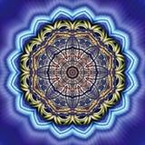 Fractal geométrico I del círculo Imagen de archivo libre de regalías