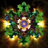 Fractal geométrico V Foto de archivo
