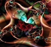 Fractal geométrico VI Imagen de archivo libre de regalías