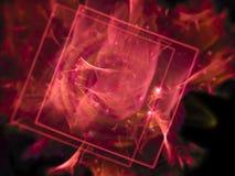 Fractal gráfico de la textura del estilo del misterio abstracto hermoso de la idea, fantasía fotografía de archivo libre de regalías