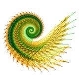 fractal helix ilustracja wektor