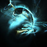 Fractal-Hintergrund Stockbild