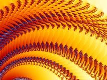 Fractal Illusion 3 Stock Images
