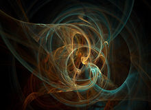 Fractal illustration Stock Images