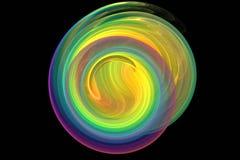 Fractal image. Computer-generated 3d fractal image, background, wallpaper etc Royalty Free Stock Image