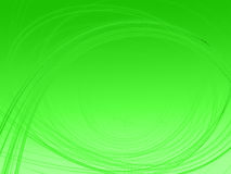 Fractal image on gradient green background Royalty Free Stock Image