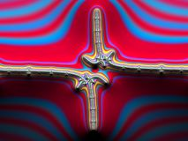 Fractal images multicolor royalty free stock image