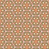 Fractal inconsútil de la naranja del extracto de la diversión, azul y verde de la textura stock de ilustración