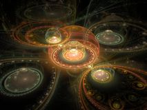 Fractal juliano magnífico óptico 06 del arte 3D libre illustration