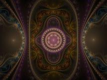Fractal juliano magnífico 04 del arte óptico libre illustration