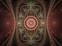 Fractal juliano magnífico 11 del arte óptico ilustración del vector