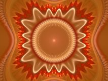 Fractal juliano magnífico 24 del arte óptico stock de ilustración